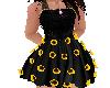 kid Sunflower dress flat