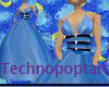 Blue Crush Prom Gown