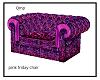 minaj pink friday sofa