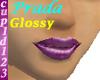 Rose Purple Lips
