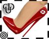 *m Sexy Nurse Heels Red