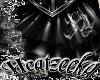 (HZ) Black Rose Pvc Skir