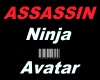 IMVU Ninja Assassin AVAT