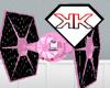 Pink Tie Fighter