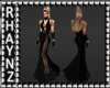 Ria Black Evening Gown