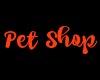 LWR}Pet Shop Sign 3d