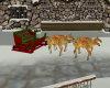 Santa's Sled With Deer