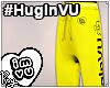 #HugInVU Joggers -Yellow