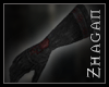 [Z] Necrom. Gloves red