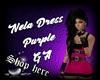 Nela Dress Purple