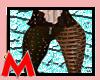 M.Miky Golden Blk Pants