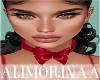 A- Valentina Bow Choker