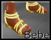 Yellow Sandal Flats