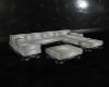 Jazzy White Sofa