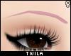 ☾ Petal Eyebrows