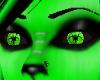 *Green Neon Toxic Eyes F