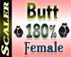 Butt / Hip Resizer 180%