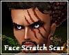 Face Scratch Scar