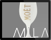 MB: MOET WHITE GLASS LH