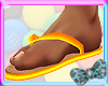 x!Vibrant Flip Flops M