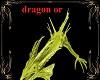 light gold dragon