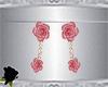 Earrings-Roses