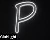 Letter P | Neon