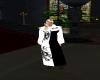 ]N[fm pastor robe blk w