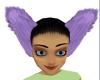 Light Purple Furry Ears