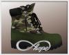 Camo AG Boot Green