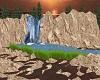 Rocks and Waterfalls DJL