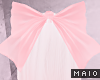 🅜 PINKU: bow lrg pink