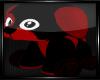 Blk/Red Doggie Toy
