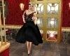 !RRB! Black Mid Dress
