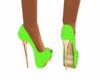 Polkadot Green Shoe
