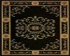 Black/Gold Oriental Rug