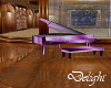 Purple piano