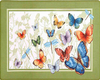 Butterfly Kitchen Rug
