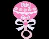 """Floating Rattles """"girl"""""""