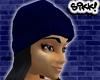 602 Blue Skully Bk Hair