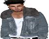 Jean w/fur Hoody