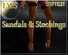 Sandals & Stockings