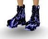 Splashed Rave Boots