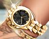 🖤 Mona Gold Watch