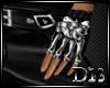 D13l Bones Gloves