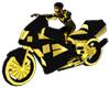 Gold Tron Bike