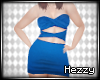 BBR SS Emi Dress Blue