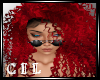 !C! RED FOXY CURLS