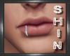 Left Lip Hoop - Silver