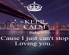 just cant stop loving yo